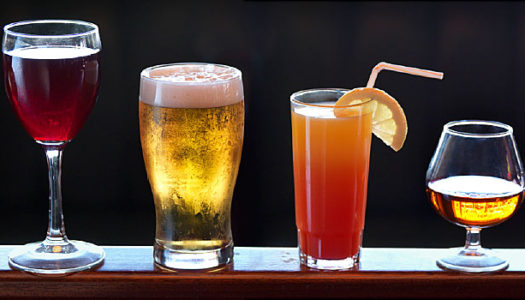 Can a healthy diet include alcohol?
