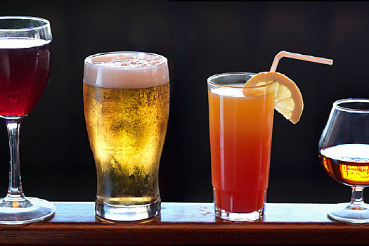 Can a healthy diet include alcohol, QM Magazine